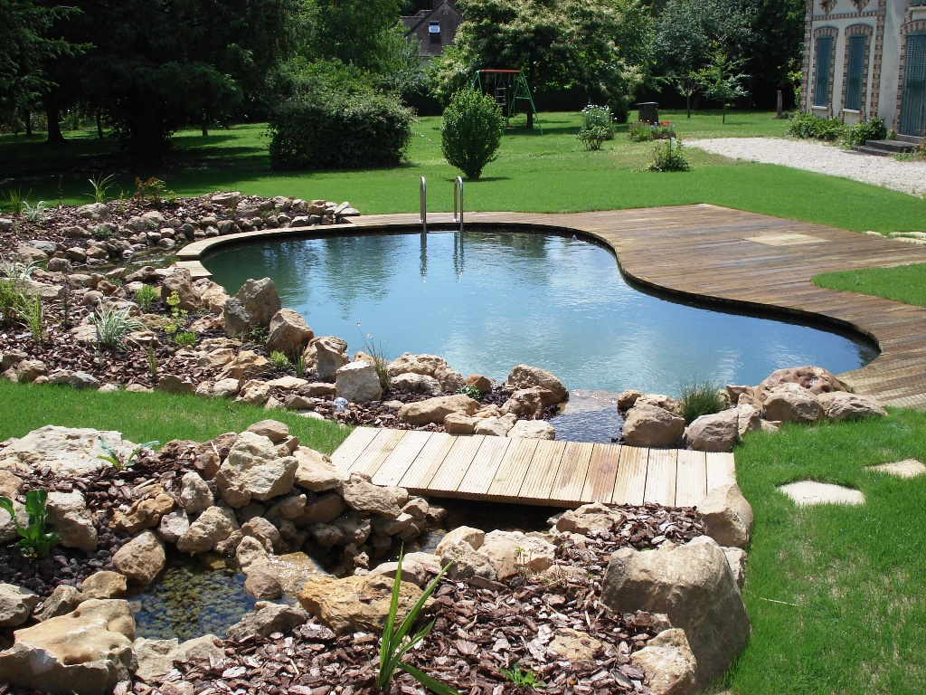 Piscine naturelle for Autoconstruction piscine