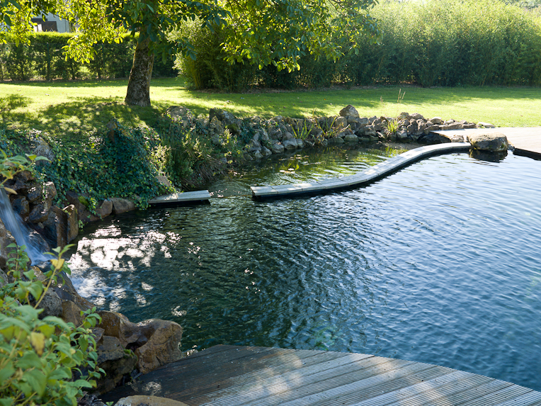 Piscine naturelle for Autoconstruction piscine naturelle